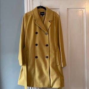 Express Wool Blend Trench Coat